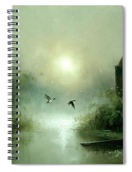 Quiet Abode Spiral Notebook