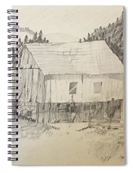 Quiet Barn Spiral Notebook