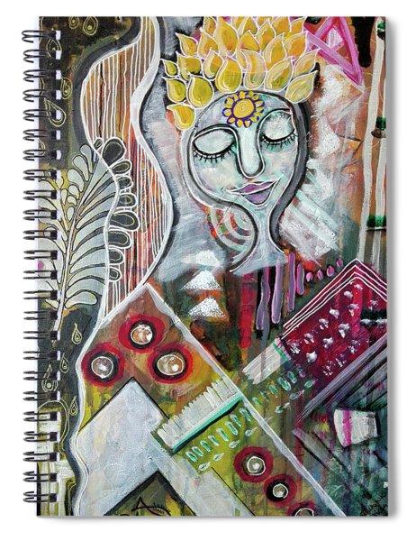 Quiet Bliss Spiral Notebook