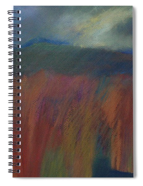 Quiet Explosion Spiral Notebook