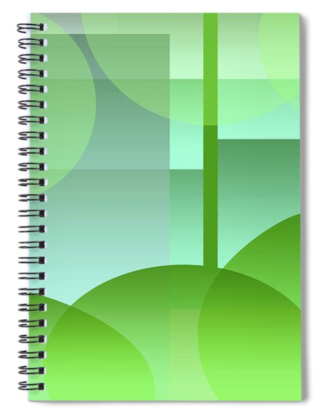 Quiet Place Spiral Notebook