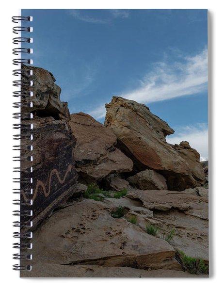 Quiet Serpent Spiral Notebook