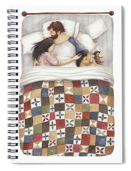 Quilt Cuddles Spiral Notebook