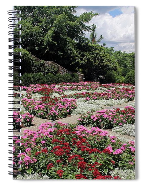Quilt Garden Spiral Notebook