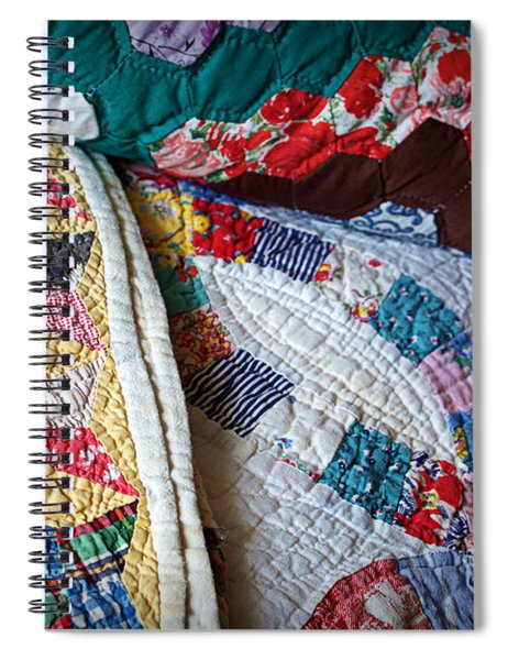 Quilted Comfort Spiral Notebook
