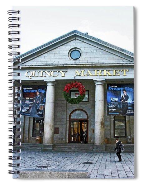 Quincy Market Building Spiral Notebook