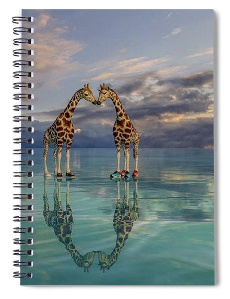 Quite The Pair Spiral Notebook