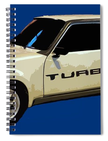 R Turbo Art Spiral Notebook