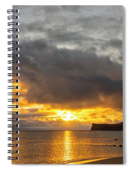 Rabbit Island Sunrise - Oahu Hawaii Spiral Notebook