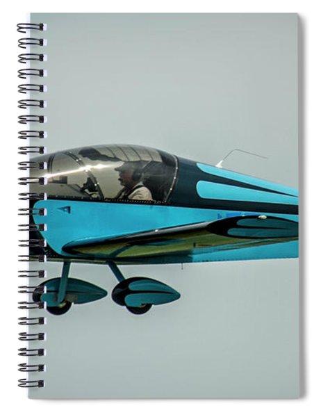 Race 100 Vic Vicari Spiral Notebook
