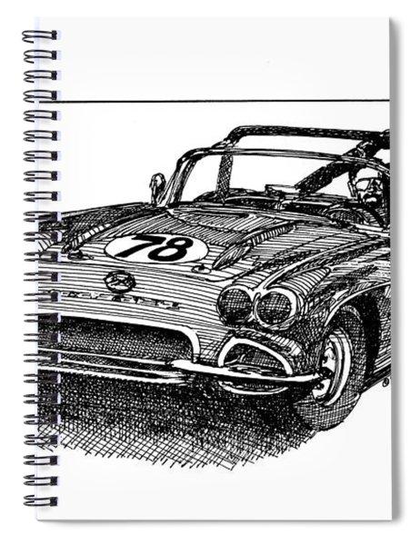 Race 78 Spiral Notebook