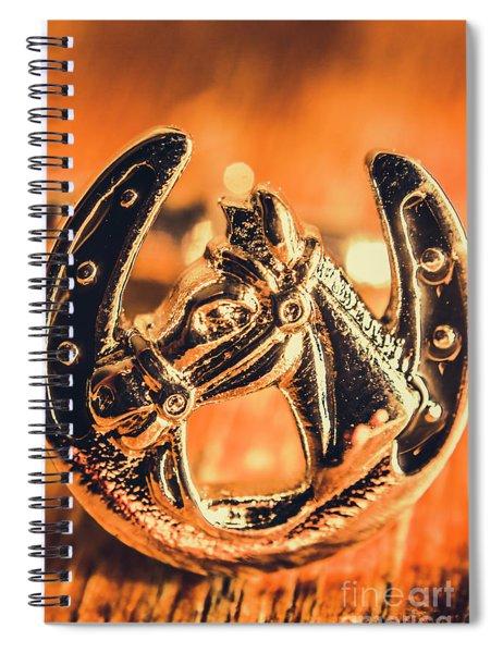 Racehorse Luck Spiral Notebook