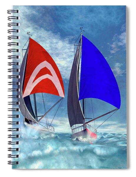 Racing Home Spiral Notebook