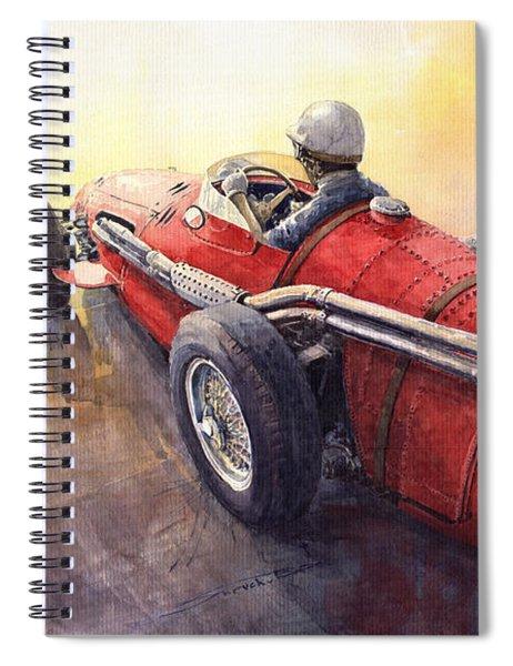 Racing Light Maserati 250 F Spiral Notebook
