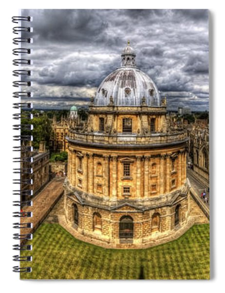 Radcliffe Camera Panorama Spiral Notebook