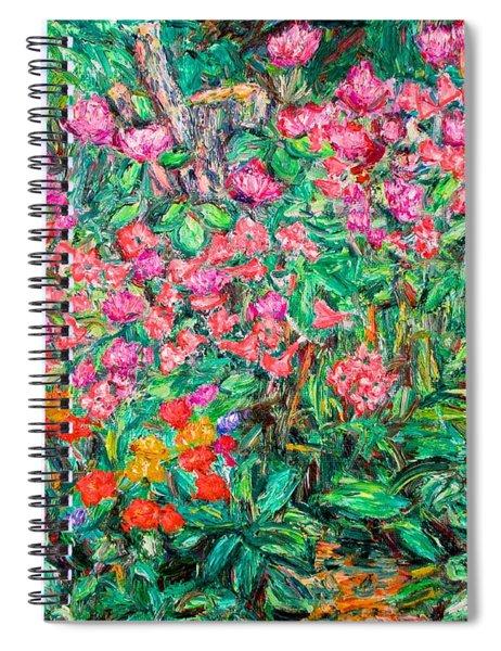 Radford Flower Garden Spiral Notebook