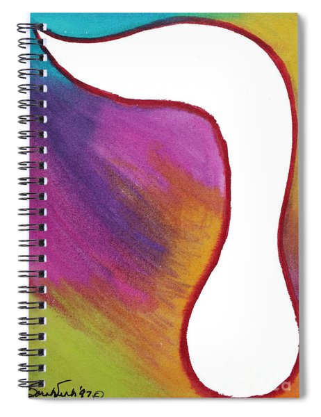 Radiant Resh Spiral Notebook