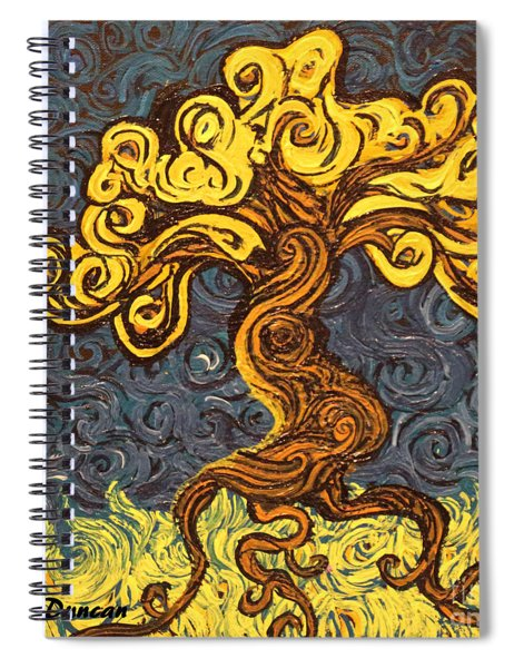 Radiant Within Spiral Notebook