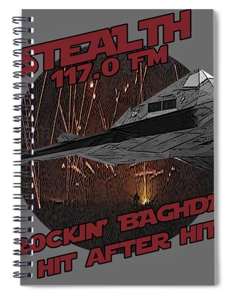 Radio Baghdad Spiral Notebook