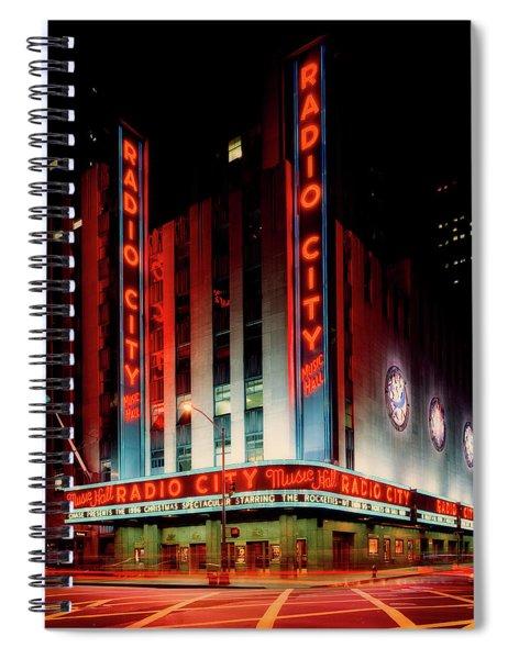 Radio City Music Hall 1990s Spiral Notebook