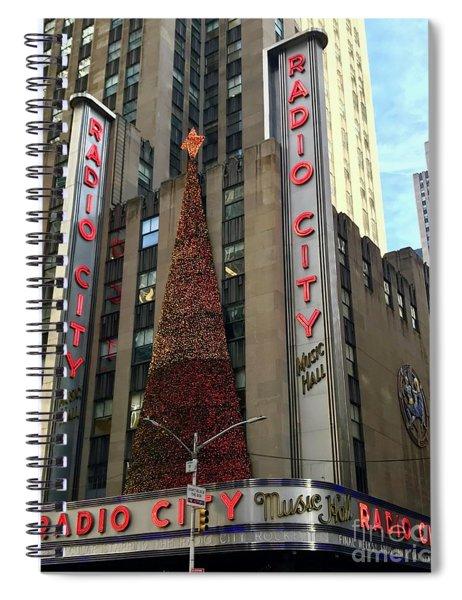 Radio City Music Hall Spiral Notebook