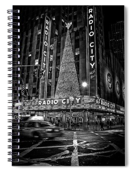 Radio City Spiral Notebook