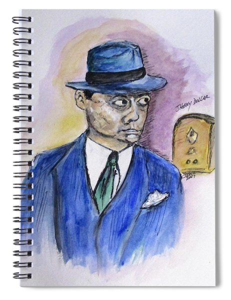 Radio's Johnny Dollar Spiral Notebook