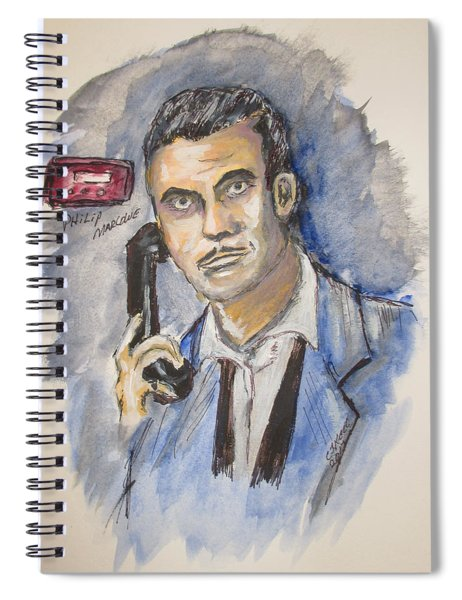 Radio's Philip Marlowe Spiral Notebook