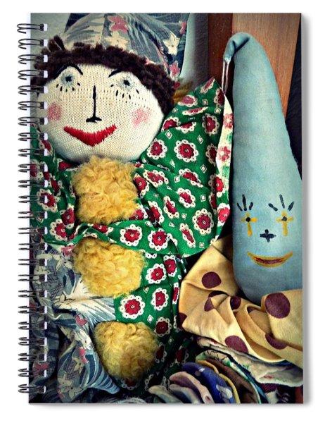 Ragdoll Buddies Spiral Notebook