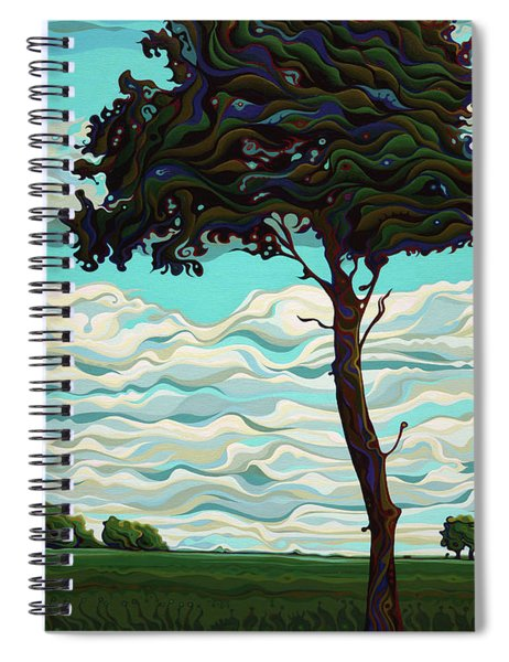 Raging Sky Po-e-tree Spiral Notebook