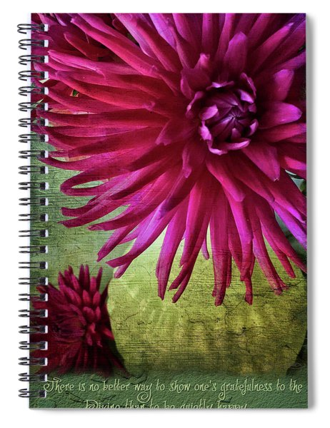 Rai Love Spiral Notebook