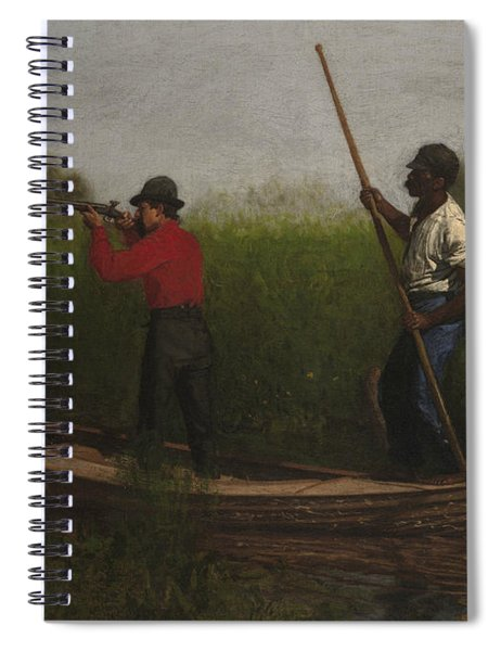Rail Shooting On The Delaware Spiral Notebook