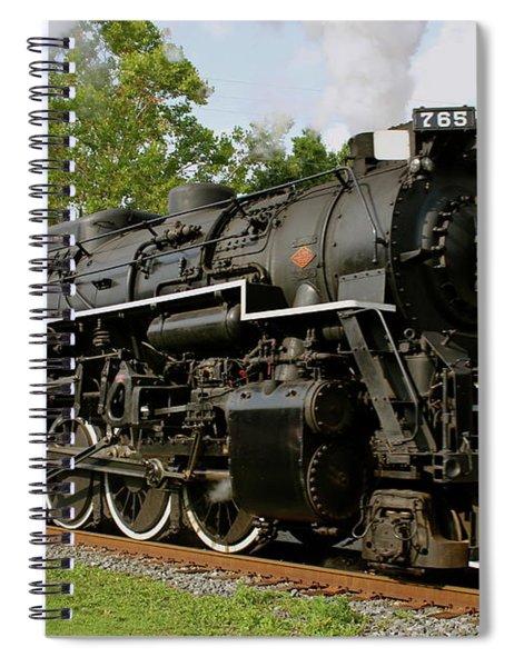 Cuyahoga Valley Express Spiral Notebook