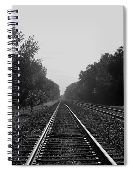 Railroad To Nowhere Spiral Notebook