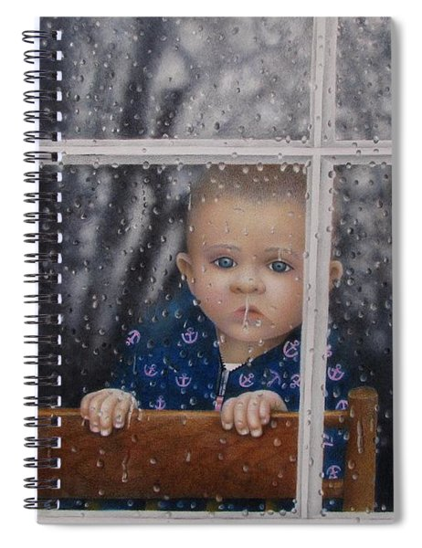 Rain Check Spiral Notebook