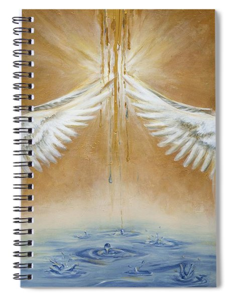 Rain Of His Glory Spiral Notebook