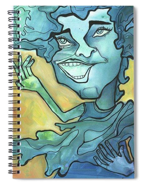Rain Or Shine Spiral Notebook