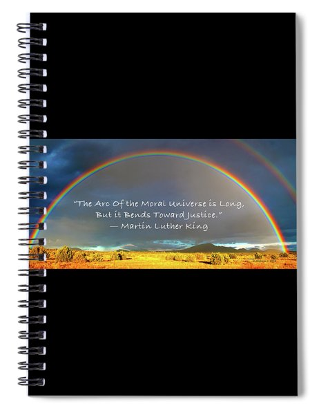 Martin Luther King - Justice Spiral Notebook
