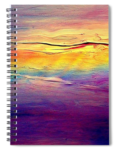 Rainbow Clouds Full Spectrum -dedicated                     Spiral Notebook