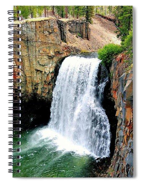 Rainbow Falls 11 Spiral Notebook