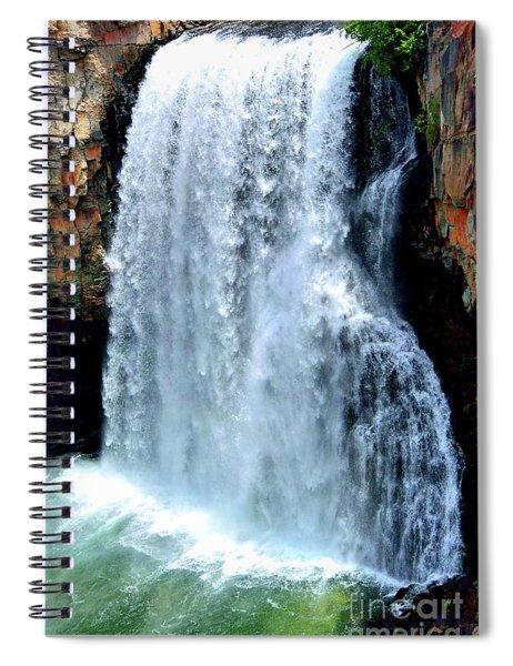 Rainbow Falls 13 Spiral Notebook