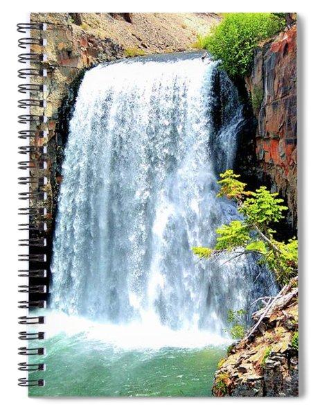Rainbow Falls 14 Spiral Notebook