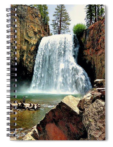 Rainbow Falls 15 Spiral Notebook