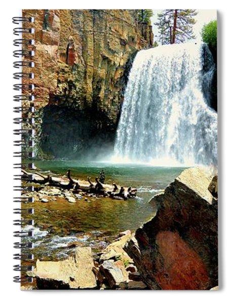 Rainbow Falls 2 Spiral Notebook