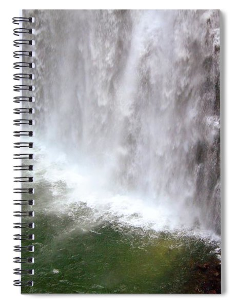 Rainbow Falls 21 Spiral Notebook
