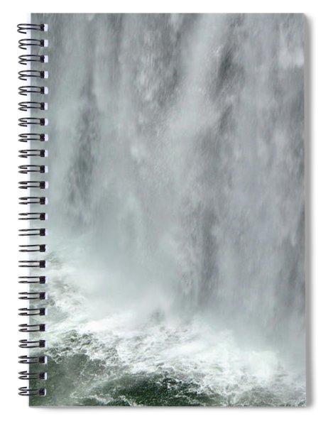 Rainbow Falls 25 Spiral Notebook