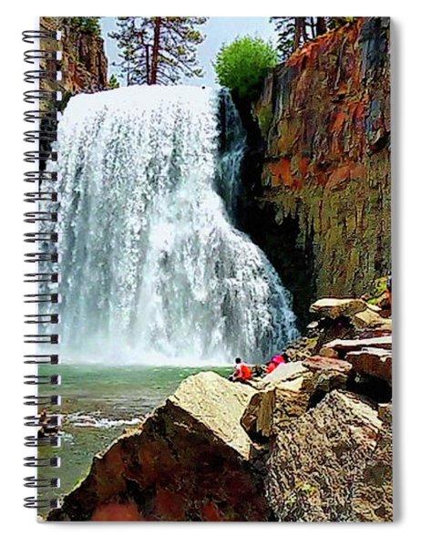 Rainbow Falls 4 Spiral Notebook
