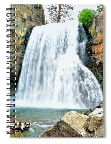 Rainbow Falls 6 Spiral Notebook