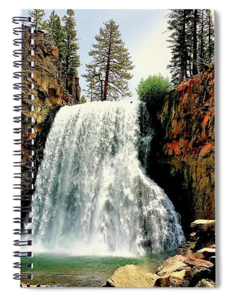 Rainbow Falls 8 Spiral Notebook