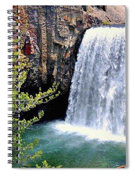 Rainbow Falls 9 Spiral Notebook